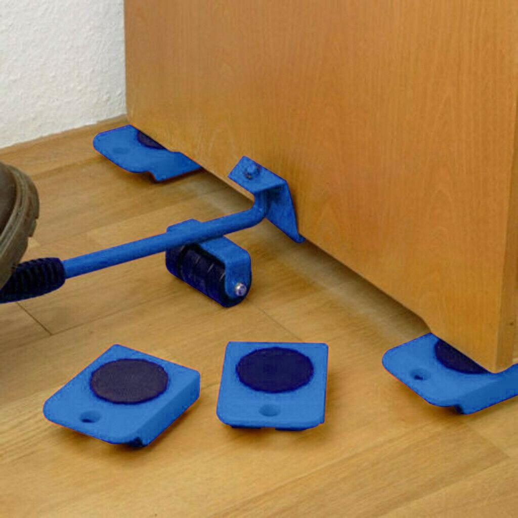 Herramienta de manejo de objetos pesados móviles 5 en 1