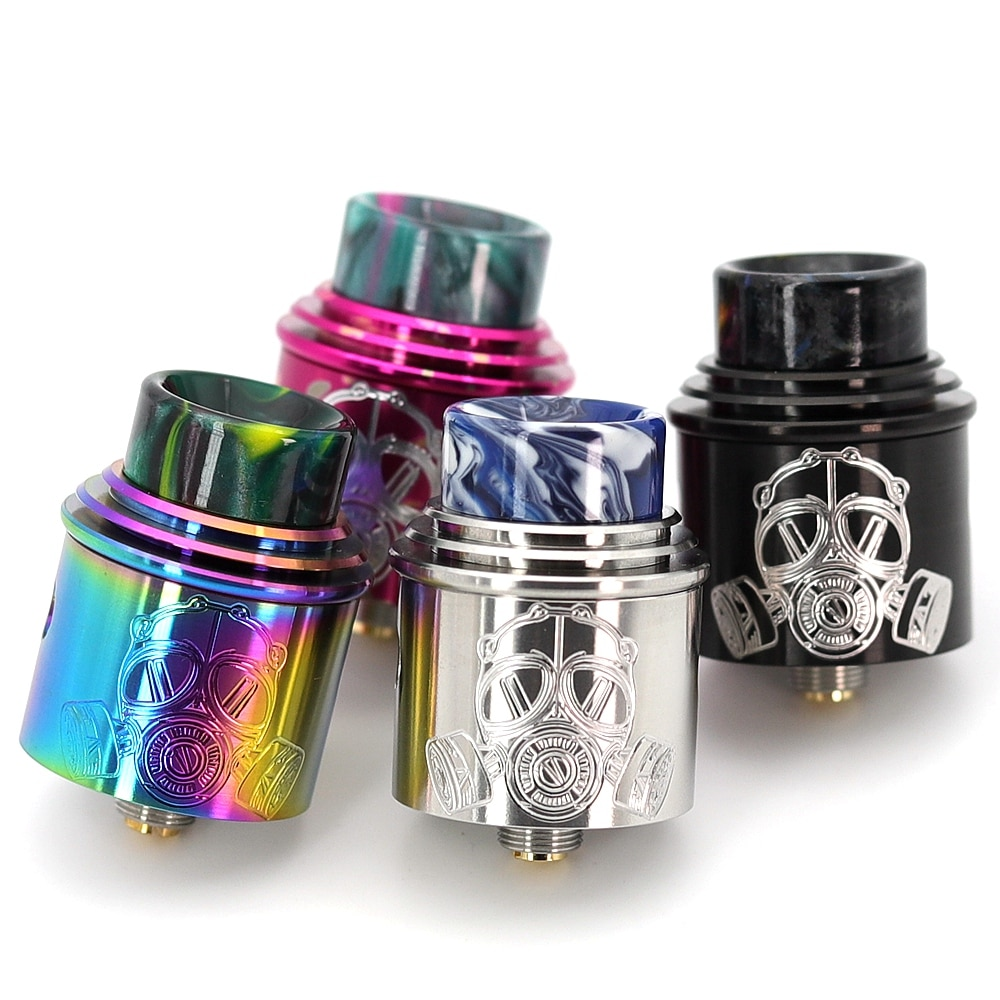 VapSea Apocalypse GEN 2 RDA Atomizer RDA 24mm Rebuilding Dripping Tank with squonk BF PIN for 510 Electronic Cigarette BOX Mod