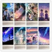5d diamond mosaic diamond painting anime cure anime your name poster cross stitch kit diamonds embroidery home decoration