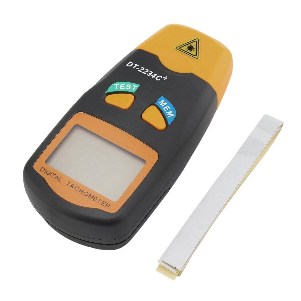 DT-2234C + C Digital LCD Laser-Tachometer Handheld Dreh Geschwindigkeit Meter Tragbare Automotive Diagnostic Test Werkzeug