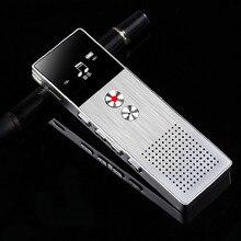SK-222 8GB Mini Flash Dijital Ses Kaydedici kulaklık MP3 Müzik Çalar Gravador de voz Destek TF Kart Dahili Hoparlör