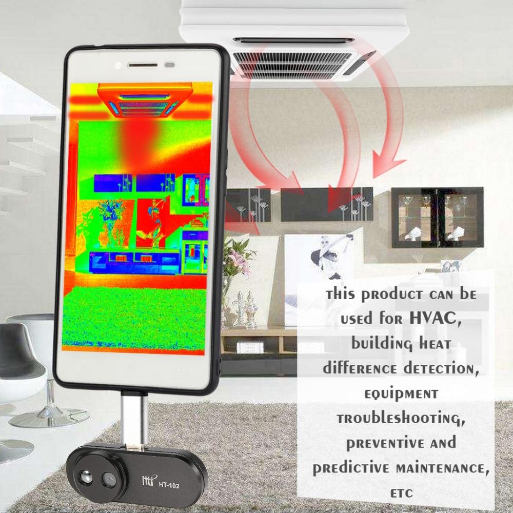 Тепловизор, инфракрасный датчик температуры HT-102/Мобильный телефон для Android, Тип C