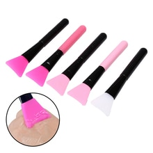 Professional Makeup Mask Brush plastic Handle Facial Face Mud Mask Mixing Brush Cosmetic Women Make