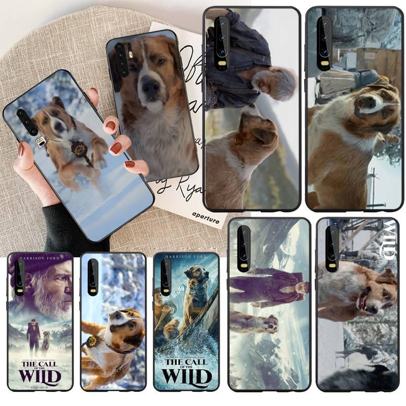 PENGHUWAN The Call of the Wild Soft Silicone Black Phone Case For Huawei NOVA 2 PLUS 2s 2i 3i 3E 4E 5 5I PRO