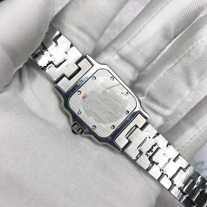 2021 Silver luxury watch AAA women 31mm carter Sants Quartz movement stainless steel watches tick movement watches battery watch enlarge