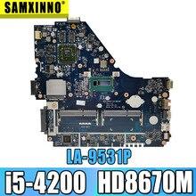 E1-572G mainboard Für For Acer E1-572 V5-561G Motherboard V5WE2 LA-9531P I5-4200 CPU HD8670M GPU Test arbeit 100% original
