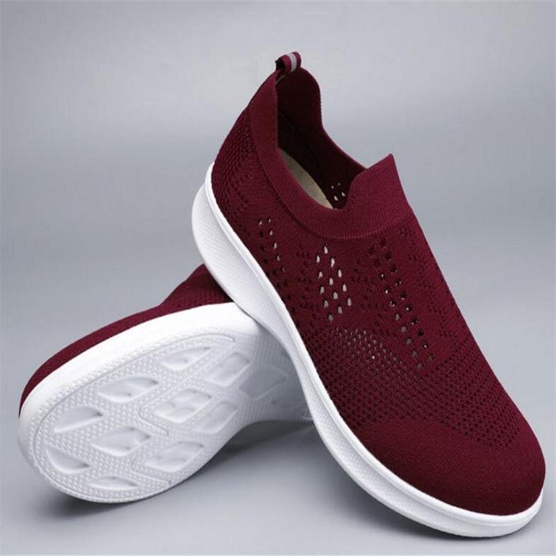 2020 zapatos para caminar para las personas de edad avanzada en verano...