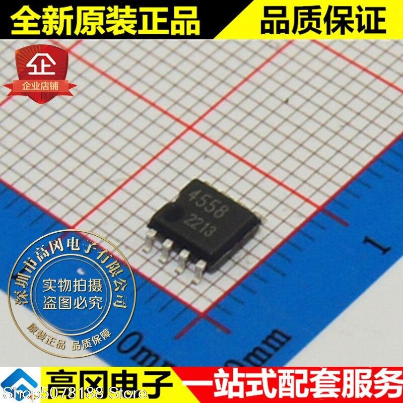 10 peças BA4558F-E2 4558 SOP8