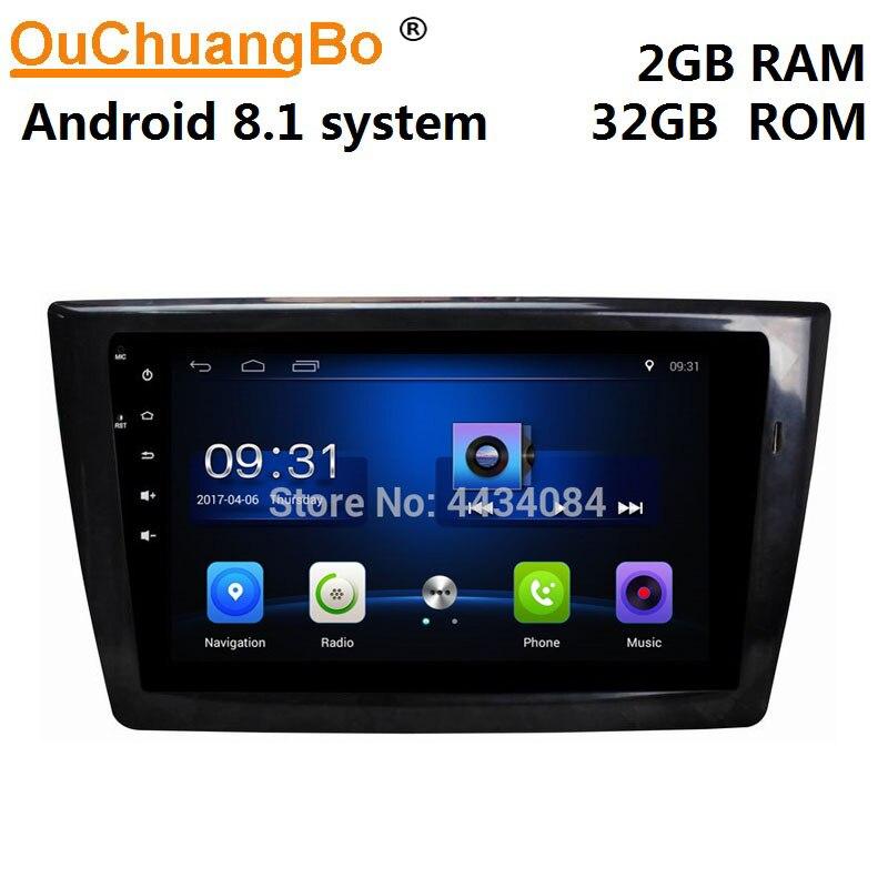 Ouchuangbo carro unidade de cabeça gps rádio android 8.1 para dongfeng xiaokang dfsk glória 580 2017-2019 suporte 4 núcleo hd livre chile mapa