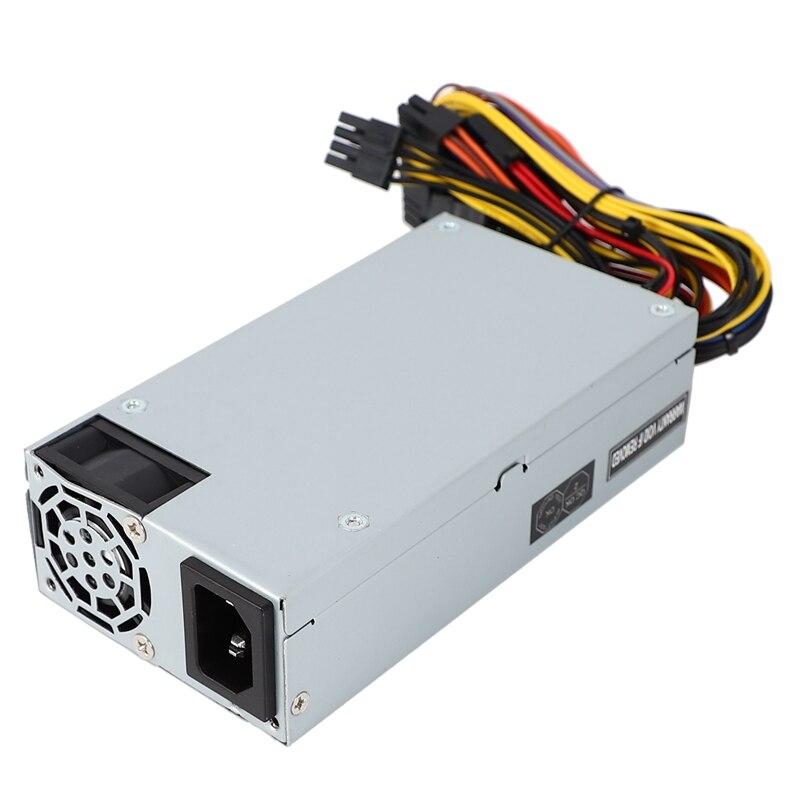 200W IPC ordenador de escritorio PC Flex pequeño 1U chasis de potencia de escritorio chasis, adecuado para publicidad máquina de hacer cola 100-240V