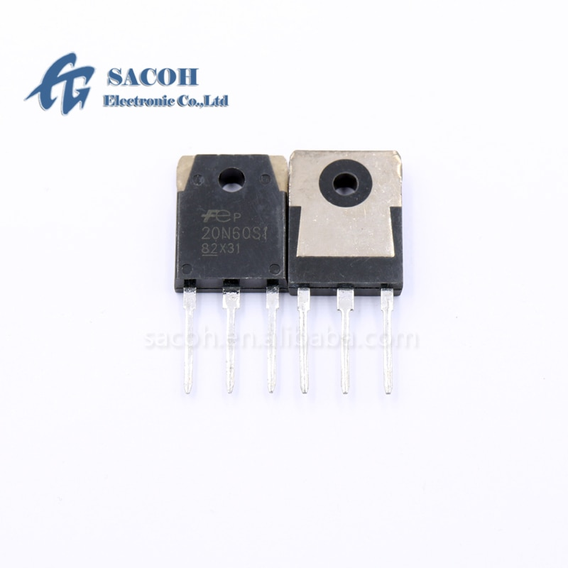 New Original 10PCS/Lot FMH20N60S1 20N60S1 or FMW20N60S1 20N60 TO-3P 20A 600V N-Channel Power MOSFET