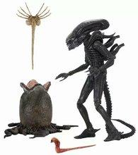 22cm NECA Alien Figure 1979 Ultimate Big Chap Alien Figure 40th Anniversary Egg Facehugger Alien Action Figure Model Toy