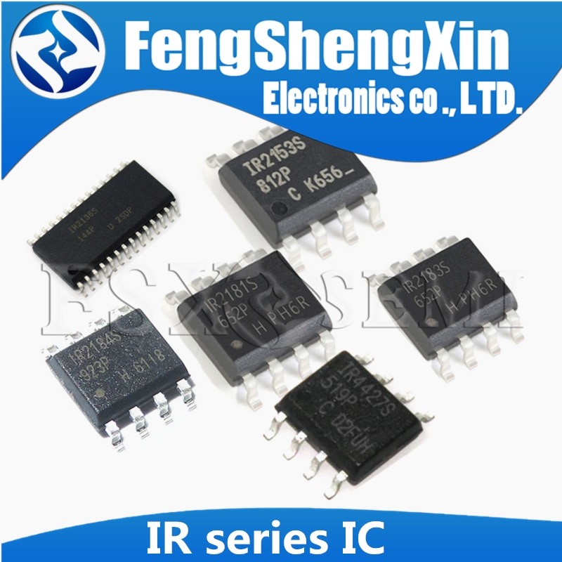 5 unids/lote IR2136S IR2153S IR2181S IR21531S IR2184S IR2183S IR4427S IR2085S IR2011S SOP-8 controlador