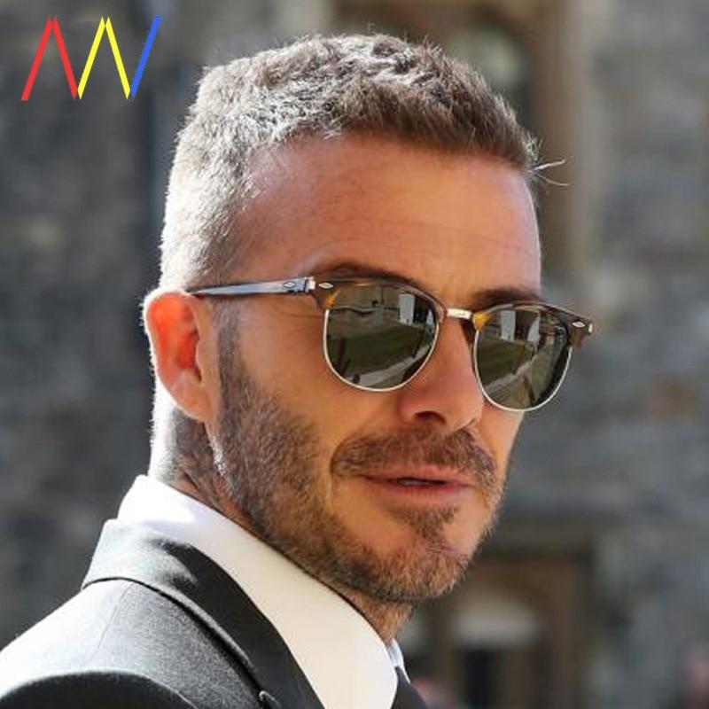 Polarized Sunglasses Men Women RB3016 Brand Design Eye Sun Glasses Women Semi Rimless Classic Men Su