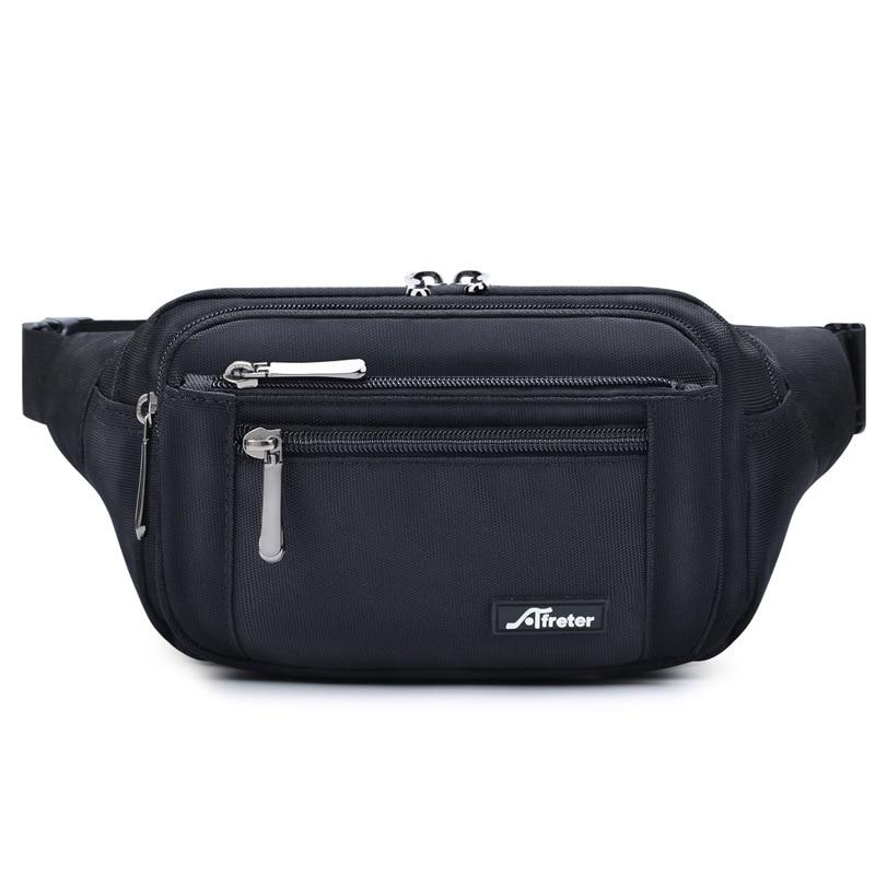 New Men's Waist Bag Outdoor Multifunctional Waterproof Shoulder Bag Chest Bag