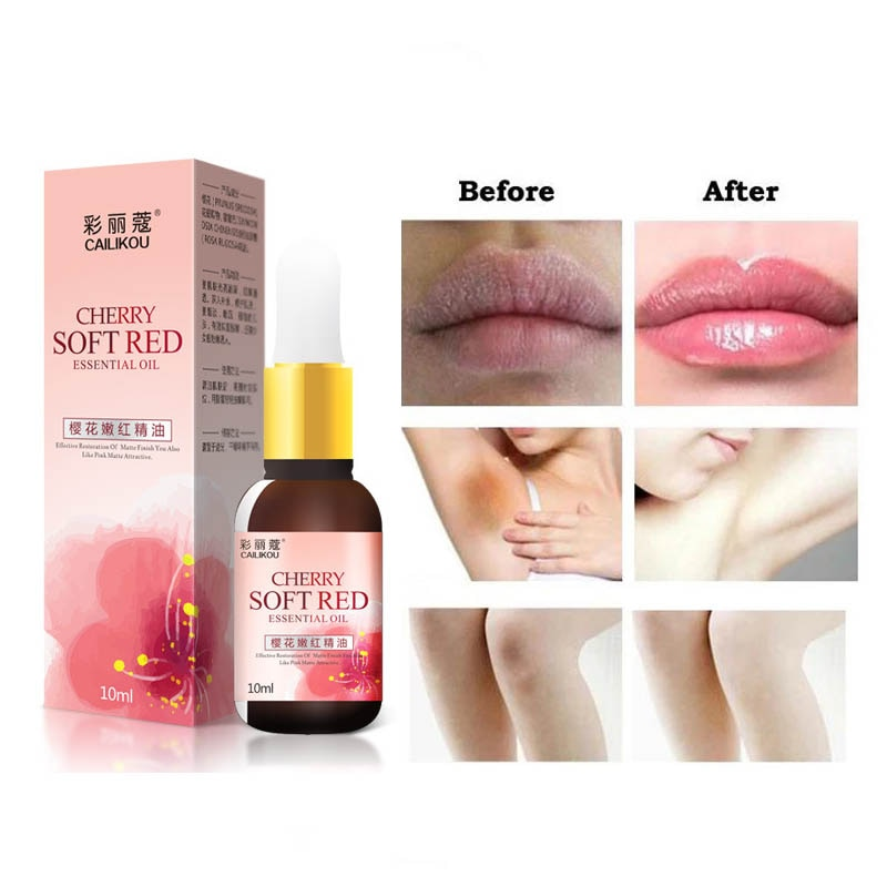 Quick Whitening & Moisturizer Fade Melanin Melasma Oil Ageless Skinfood Pink Tender Skin Care Cherry Pinkish Essence