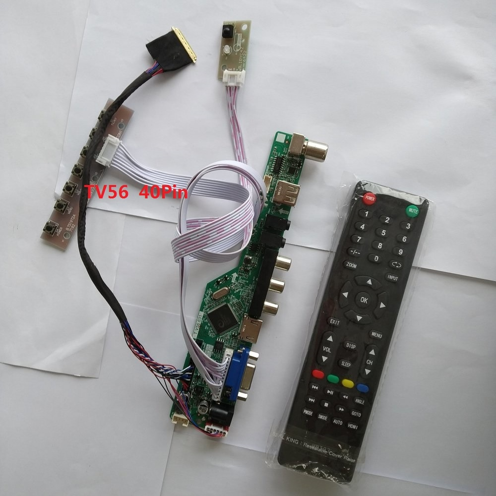 TV kit for LP156WH3 Controller driver board 15.6