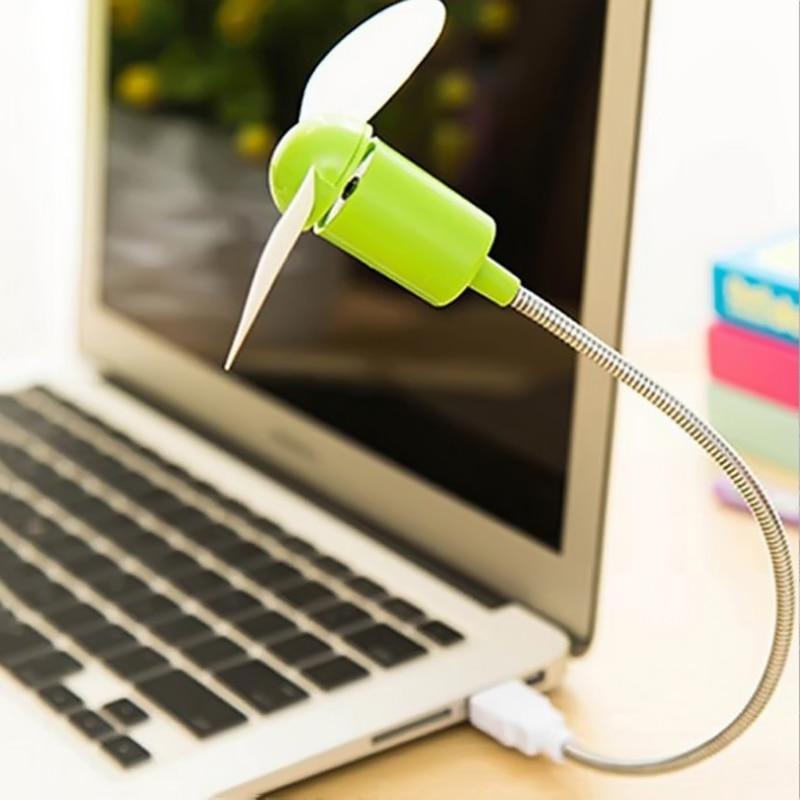 New Mini USB Portable Flexible Goose Neck Design Cooler Cooling Fan For Computer PC Laptop Power Ban