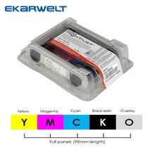 Evolis R5F008S13 YMCKO ruban pour Zenius Primacy Elypso cartes imprimantes 300 impressions