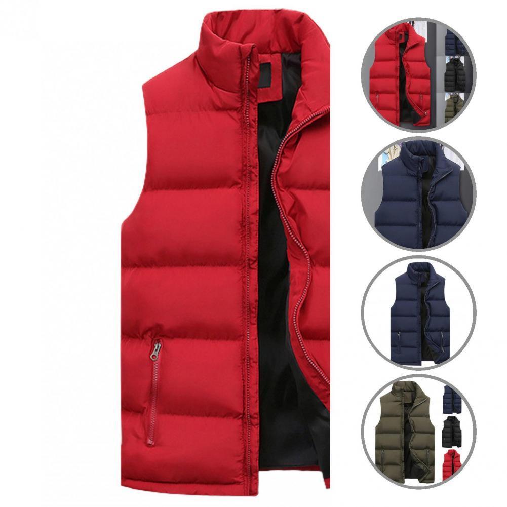 Жилет с карманами, теплый кардиган, теплый зимний жилет с подкладкой, зимний жилет для взрослых