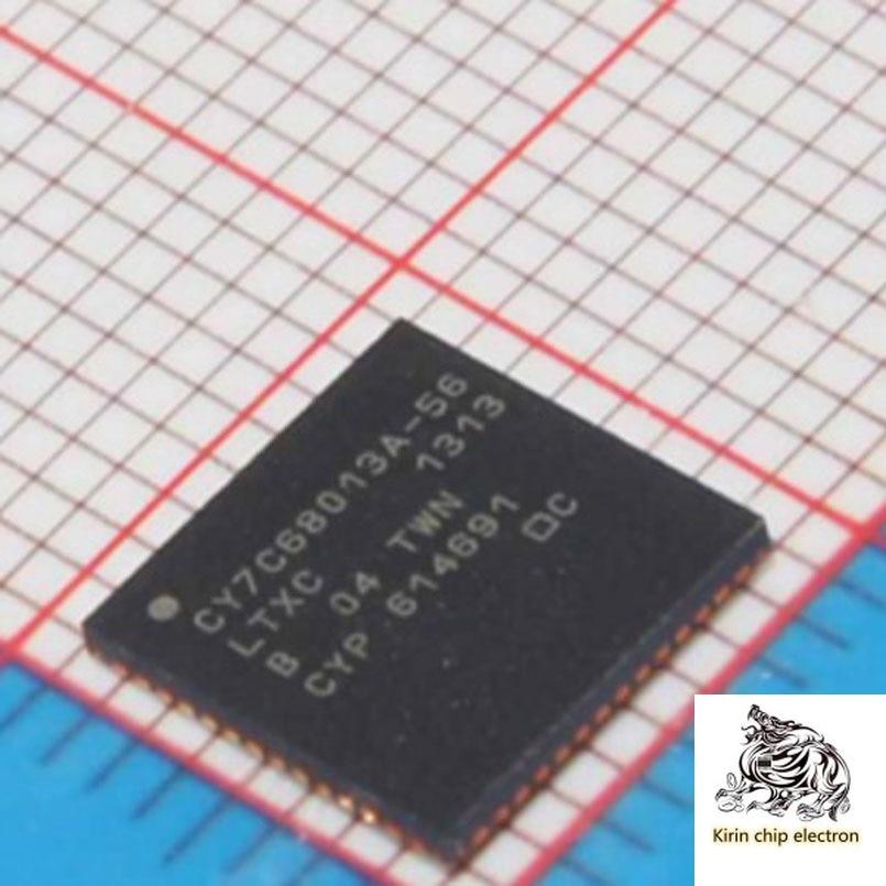 5pcs / lot cy7c68013a-56ltxc CY7C68013A qfn56 USB microcontroller chip