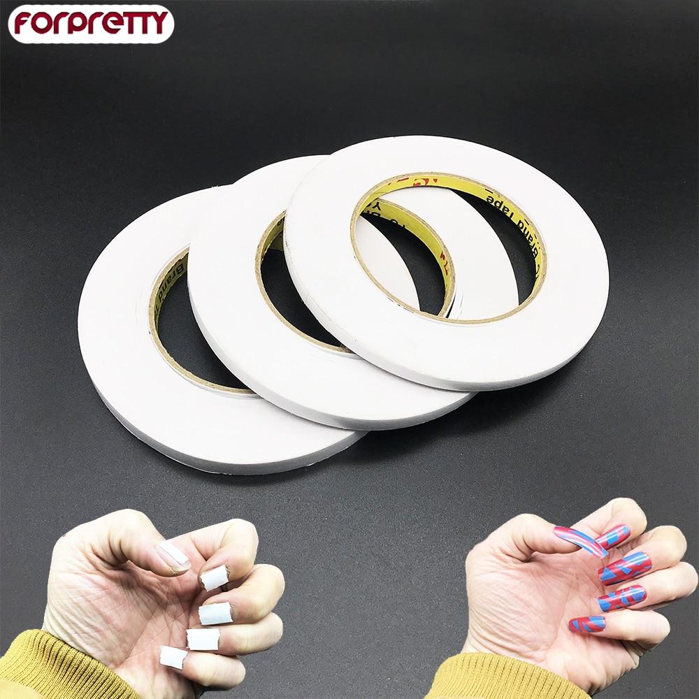 Fake Nails Tips Faux Ongles Press On Stick Display Art Tip Paznokcie Glue Avec De la Colle Autocollant Pressentoir Color Gel