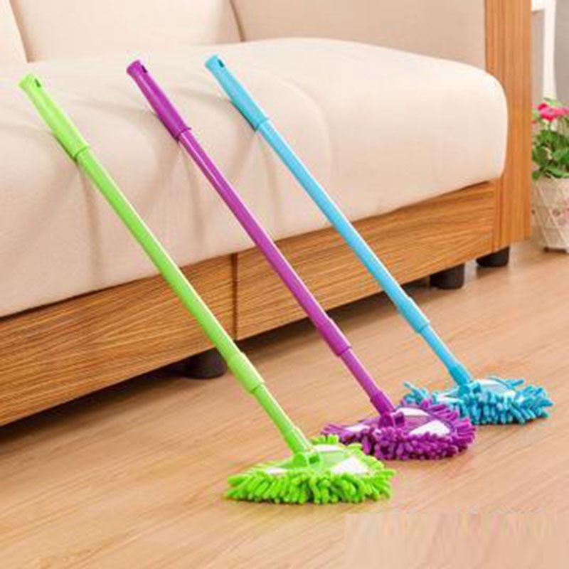 Random Color Mini Mop Mini Flat lazy mop wall household cleaning brush chenille mop washing mop dust brush Home Clean Tools enlarge