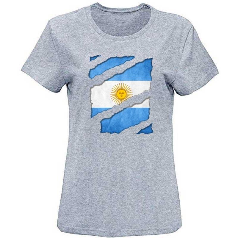 Divertida camiseta de aficionado de la bandera nacional de Argentina, camiseta de hombre de fútbol, camiseta de talla grande S-3XL, divertida camiseta de caballero, camiseta ajustada
