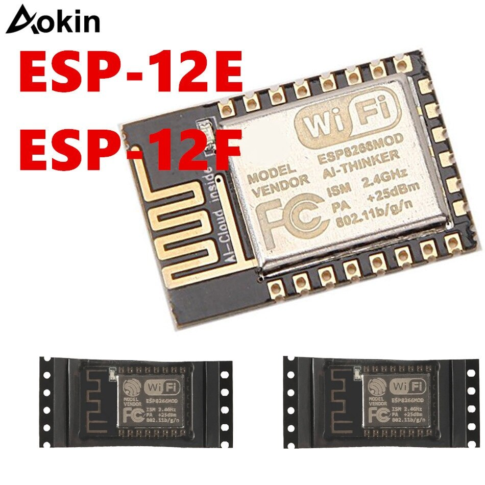 ESP8266 ESP-12E ESP12E ESP12F ESP-12F Remote Serial Port WIFI Wireless Module 3.3V SPI For Arduino New Version недорого