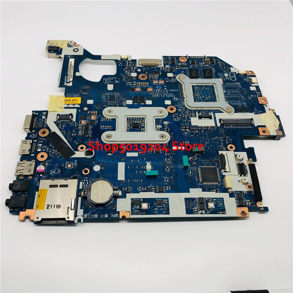 LA-6901P para acer 5750 5750g 5755 5755g computador portátil placa-mãe p5we0 mbrxk11001 mb. rxk11.001 mainboard