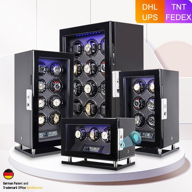 fingerprint-unlock-automatic-watch-winder-quiet-smart-remote-control-touch-screen-2-3-4-6-8-12-slots-watch-box