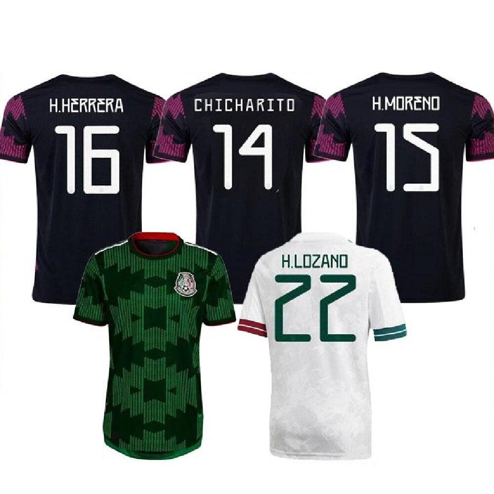 Camisetas de fútbol de la Copa americana, Camisetas 20 21, CHICHARITO, locano,...
