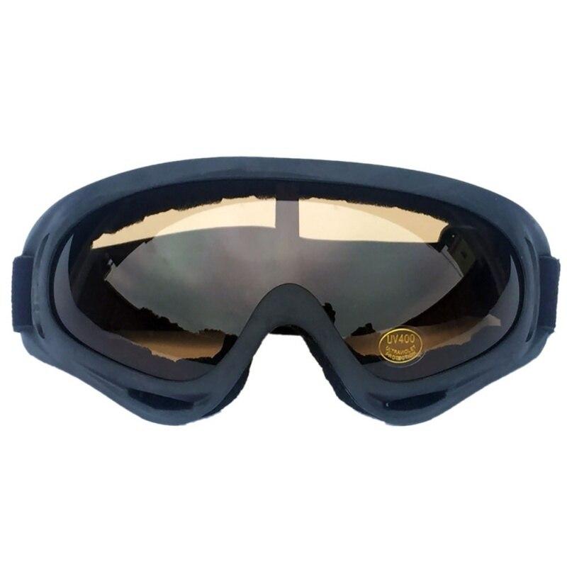 Motorcycle Sports Ski Goggles Eyewear UV400 Protective Sunglasses sponge frame Anti-Glare Glasses for Riding Running Snowboard