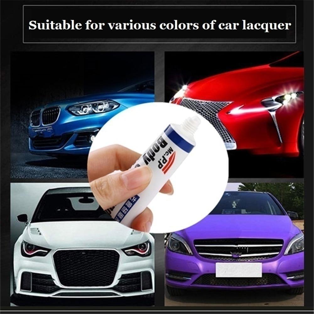 Simples reparo do carro corpo do carro composto conjunto de pasta scratch de-mark abrasivo cuidados de pintura polimento automático moagem pasta de carro polonês cuidados