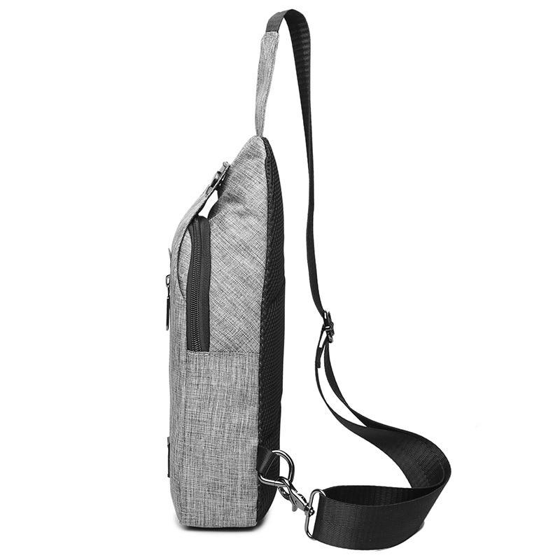 Mochila para hombre, mochila para el pecho, mochila para hombre, mochila para hombre, mochila de marca Popular estilo coreano para mujer al aire libre