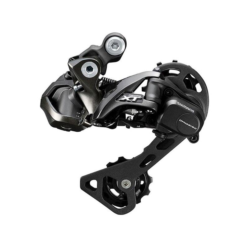 Bicicleta Shimano Deore XT Di2 M8050 GS desviador trasero 11 velocidades bicicleta