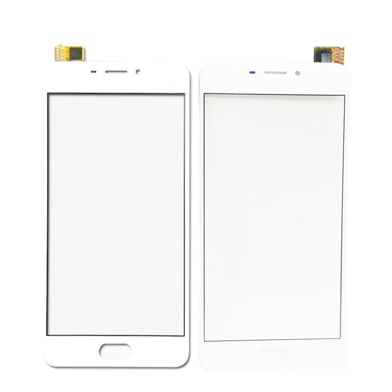 Blanco negro para Meizu M6 Note Panel de pantalla táctil nuevo Panel de vidrio pantalla táctil para Meizu M6 Lente de Cristal frontal teléfono espaà a