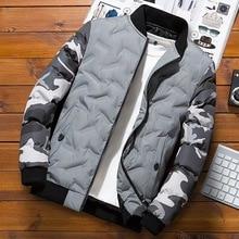 Winter Jacket Men 2019 Casual Camouflage Thick Warm Winter Coat Men's Parka Coat Male Fashion Hooded Parkas Men M-4XL Plus Size