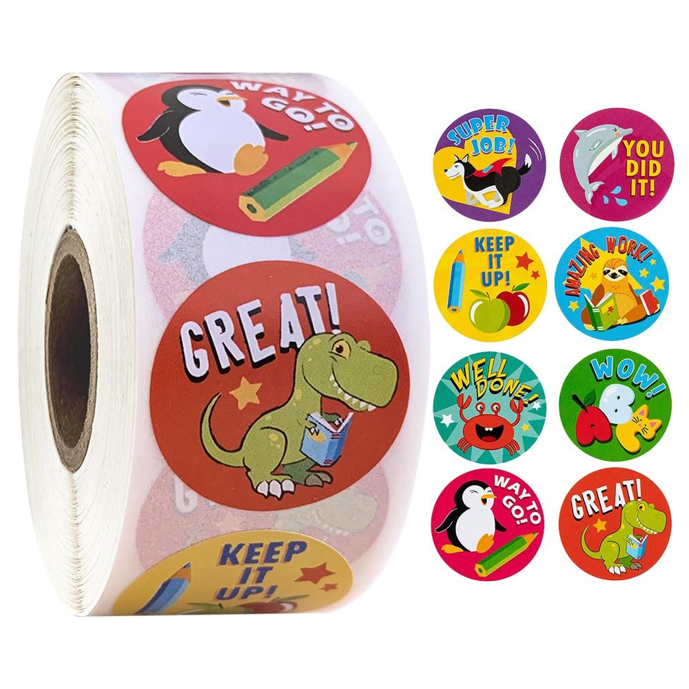500-pcs-adesivi-premio-adesivi-motivazionali-rotolo-per-bambini-per-la-scuola-ricompensa-studenti-insegnanti-simpatici-animali-adesivi-etichette