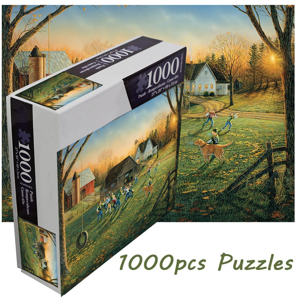 Срочная распродажа! Пазл с пейзажами для детей и взрослых, 1000 шт.