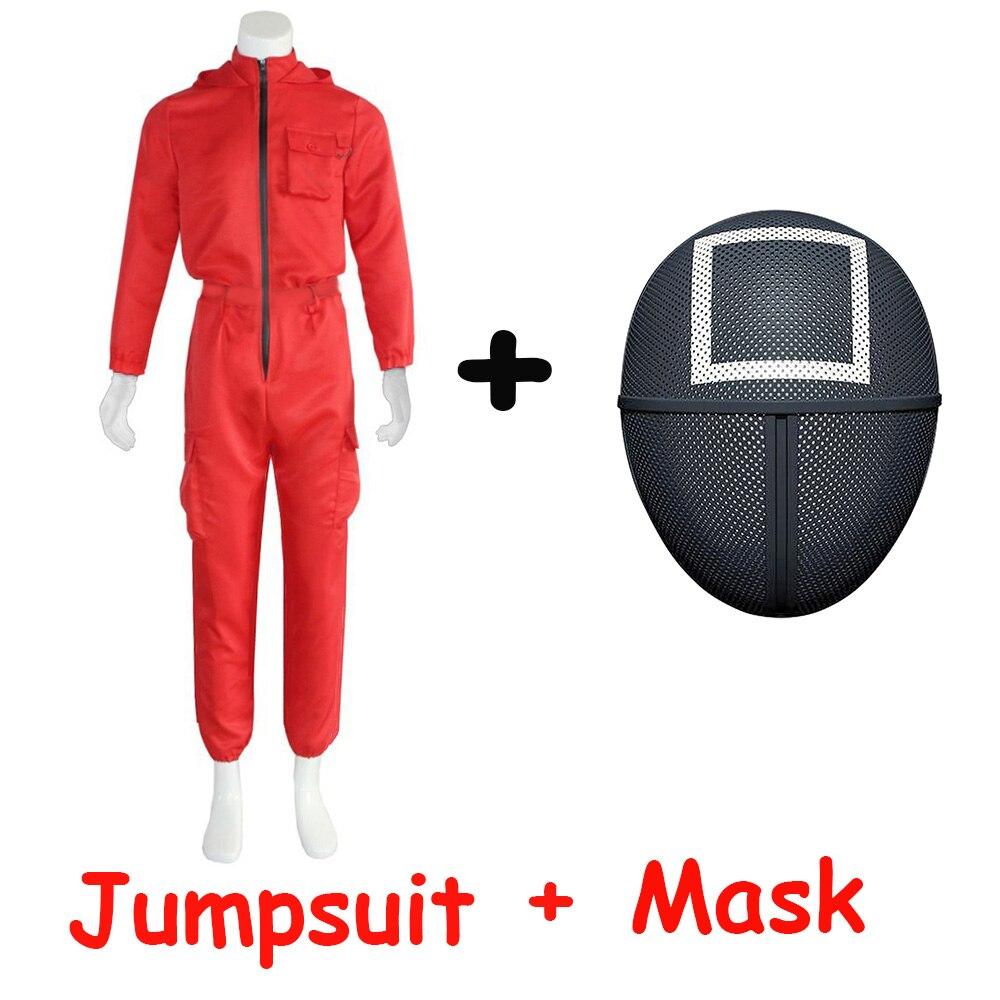 Compre Fantasia completa para Round 6 com Máscara para Cosplay, Festas e Halloween