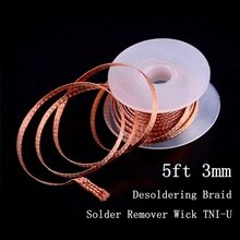 3mm Desoldering Tin Solder Wire Soldering Accessory Rosin Core Solder with Flux