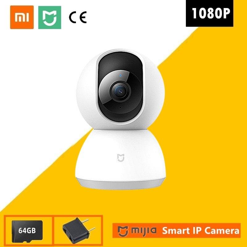New Xiaomi 1080P IP Mi Smart Camera 360 Angle Wireless WiFi Night Vision Video Camera Webcam Camcord