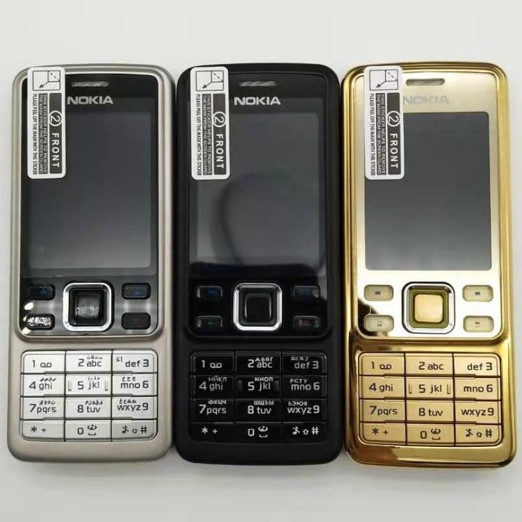 Nokia 6300 Refurbished-Original Unlocked  5MP GSM Support Russian&Arabic Keyboard Mobile Phone Tri-Band Multi-language