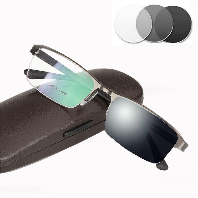 +10 +15 +175  +200 Sun Reading Glasses Photochromic Gray  for Men Hyperopia Presbyopia diopters Anti-glare Eyewear