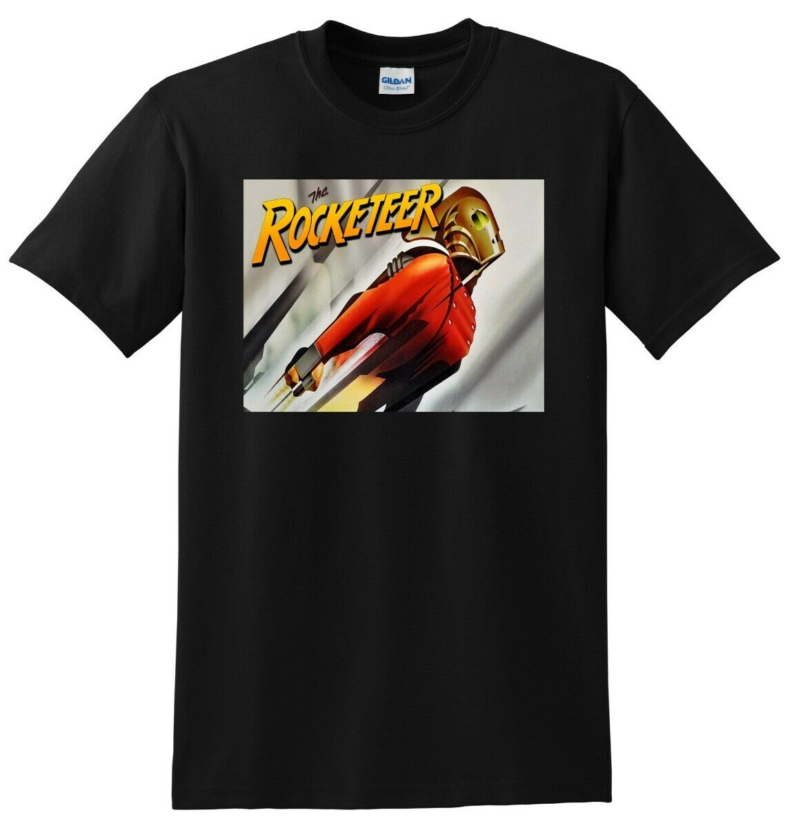 Camiseta The Rocketeer 1991 Bluray 4K Poster camiseta pequeña mediana grande o Xl