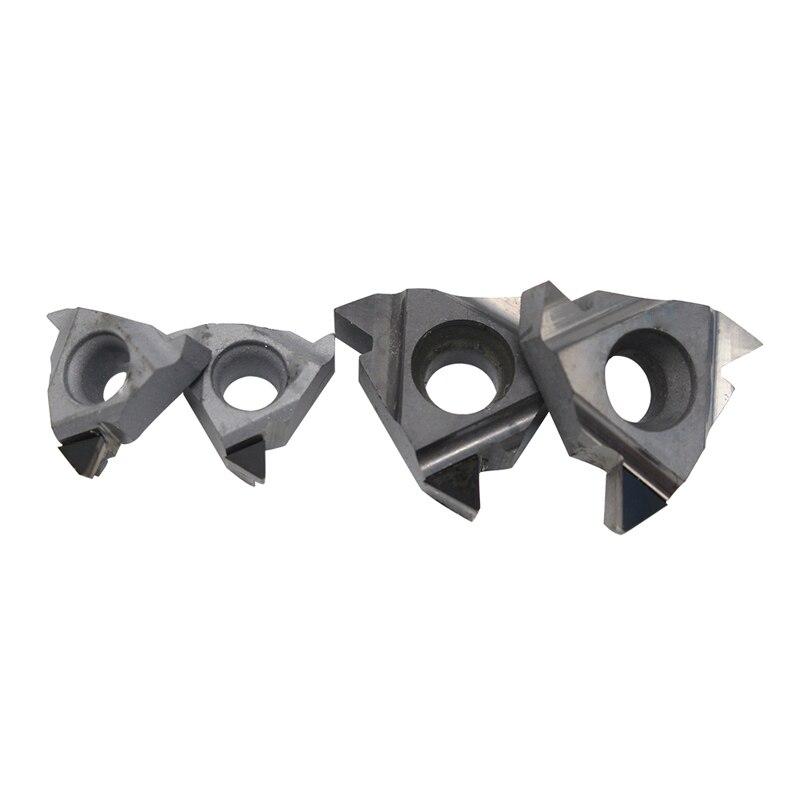 1 unidad 11IR A60 16ER A60 16IR AG60 PCD CBN insertos de torneado CNC diamante torno cortador rosca herramienta de hoja