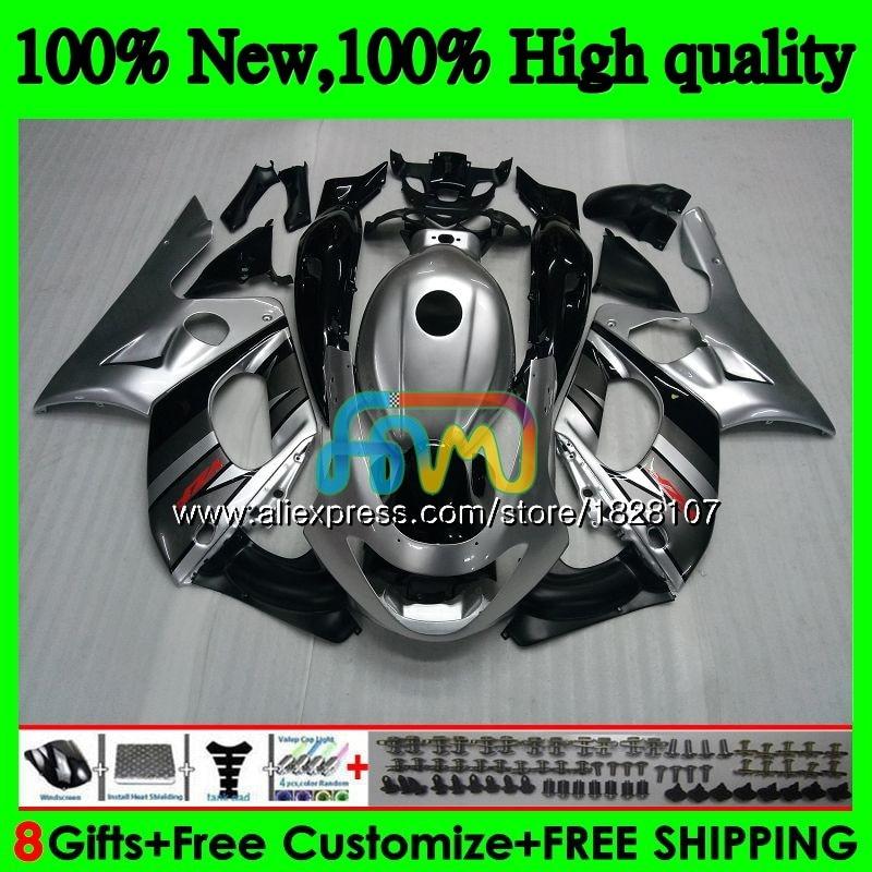 YZF 600R لياماها Thundercat YZF600R 96 02 الفضة الأسود 03 04 05 06 07 73BS.39 YZF-600R 2002 2003 2004 2005 2006 2007 هدية