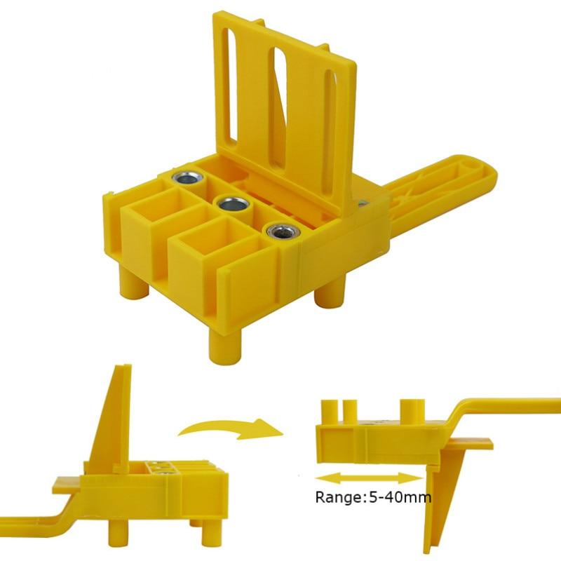 Gyors fa dübelfűrész ABS műanyag kézi lyukfúró rendszer 6/8/10 - Szerszámkészletek - Fénykép 2