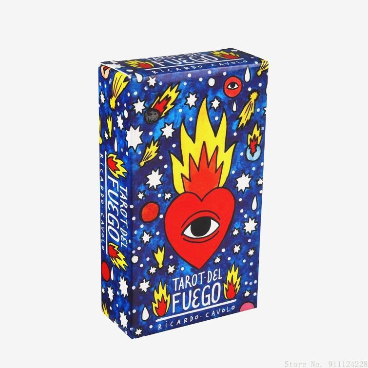 Фото - Popular Tarot Del Fuego Tarot Cards English Deck Board Cards Family Board Game Playing Game Cards Party Game geistesing board game 2 8 players family party best gift for children english instructions cards game reaction blitz game